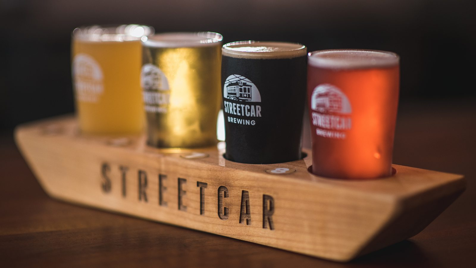 A Craft Beer Flight